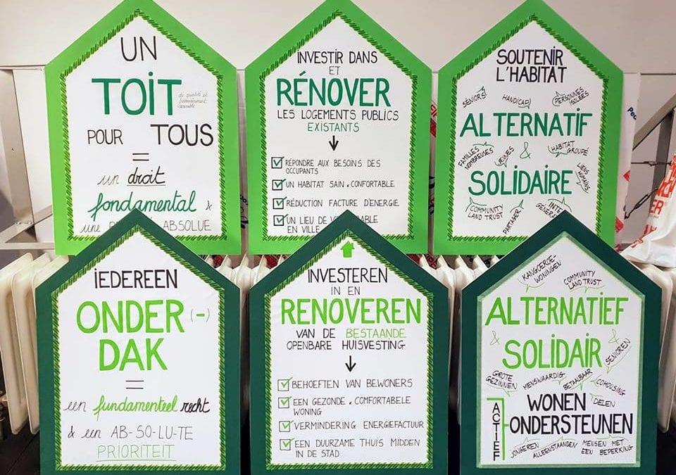 Habiter à Bruxelles : des choix à poser d'urgence