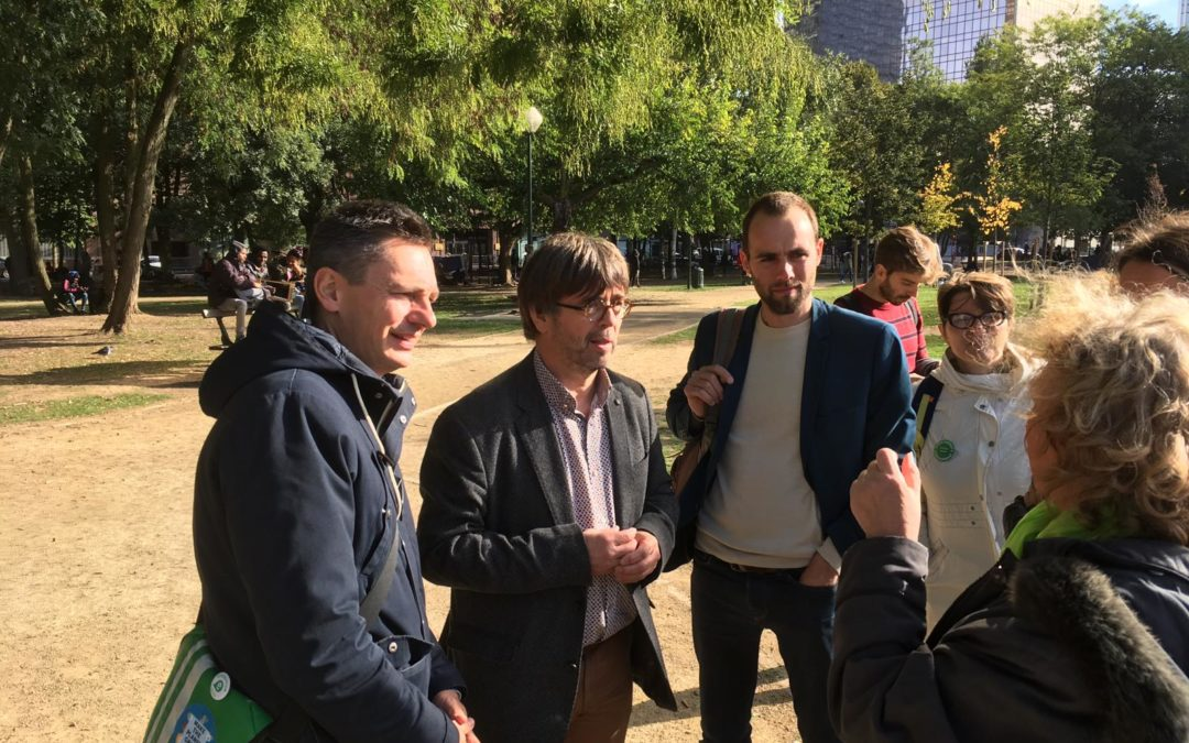 Parc Maximilien, les solutions d'Ecolo-Groen Ville de Bruxelles: inspirons-nous de Grande-Synthe.